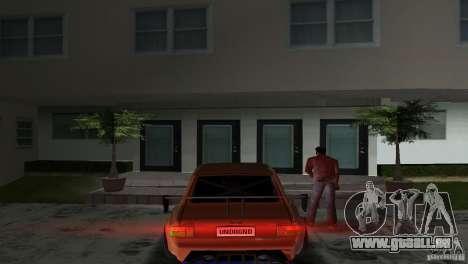 Zastava 110 GT pour une vue GTA Vice City de la droite