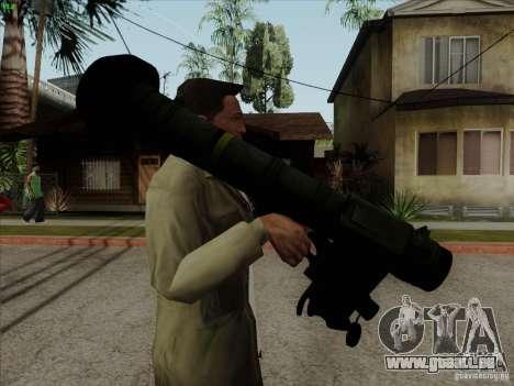 Javelin pour GTA San Andreas deuxième écran