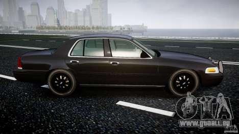 Ford Crown Victoria 2003 v2 FBI für GTA 4 Innenansicht