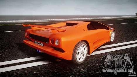 Lamborghini Diablo 6.0 VT pour GTA 4 est un côté