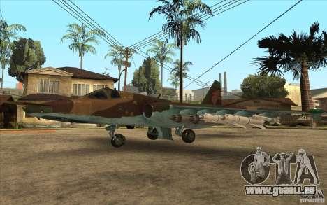 Le Su-25 pour GTA San Andreas
