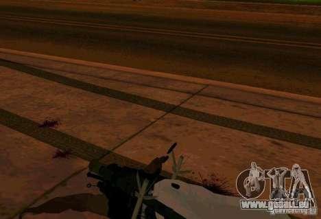 Animations de recrutement de GTA IV pour GTA San Andreas deuxième écran