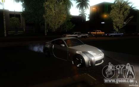Nissan 350z Speedhunters pour GTA San Andreas vue de droite