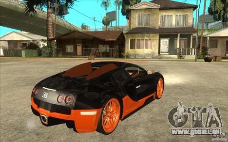 Bugatti Veyron Super Sport 2011 für GTA San Andreas