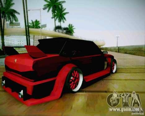 Tofas Dogan SLX DRIFT für GTA San Andreas zurück linke Ansicht