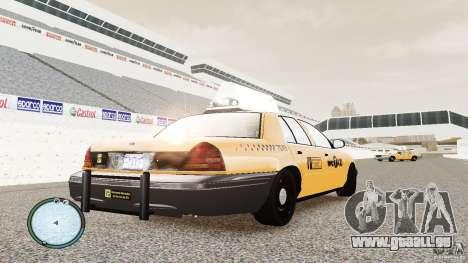 Ford Crown Victoria 2003 NYC Taxi pour GTA 4 est un droit