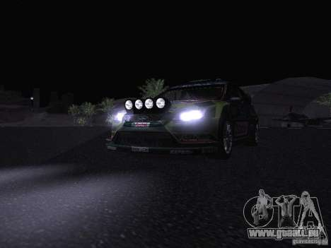 Ford Focus RS WRC 2010 pour GTA San Andreas roue