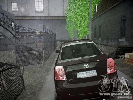 Toyota Avensis pour GTA 4 est un droit