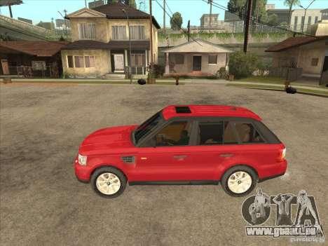 Range Rover Sport 2007 pour GTA San Andreas laissé vue