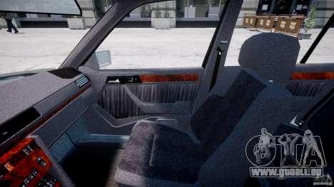 Mercedes-Benz W124 E500 1995 pour GTA 4 Vue arrière