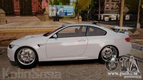 BMW E92 M3 Threep Edition pour GTA 4 est une gauche