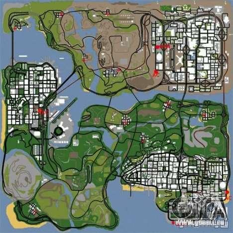 BUSmod pour GTA San Andreas deuxième écran