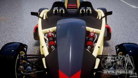 Ariel Atom 3 V8 2012 pour GTA 4 est une vue de dessous