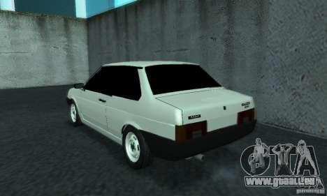VAZ 21099 coupé pour GTA San Andreas sur la vue arrière gauche