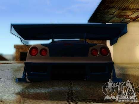 Nissan Skyline GTR34 DTM pour GTA San Andreas vue intérieure