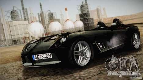 Mercedes-Benz SLR Stirling Moss 2005 für GTA San Andreas Innenansicht