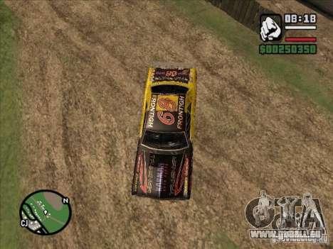 FlatOut Blade pour GTA San Andreas laissé vue