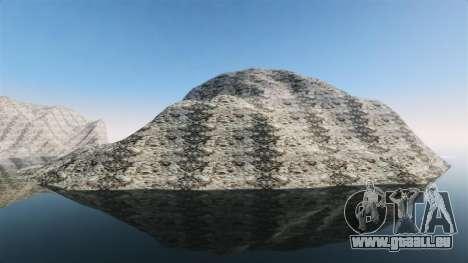 Paysage de montagne pour GTA 4 troisième écran