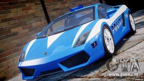 Lamborghini Gallardo LP560-4 Polizia pour GTA 4