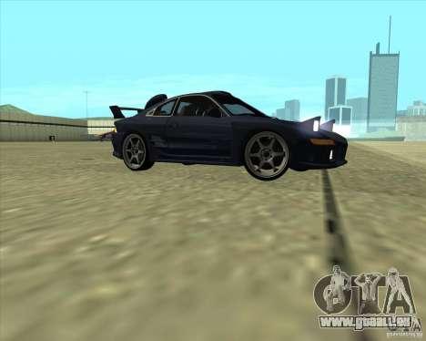 Toyota MR2 1994 pour GTA San Andreas vue intérieure