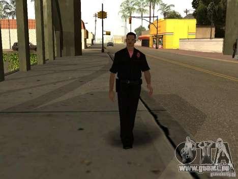 Cops skinpack pour GTA San Andreas deuxième écran