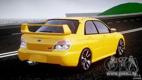 Subaru Impreza STI für GTA 4 Seitenansicht