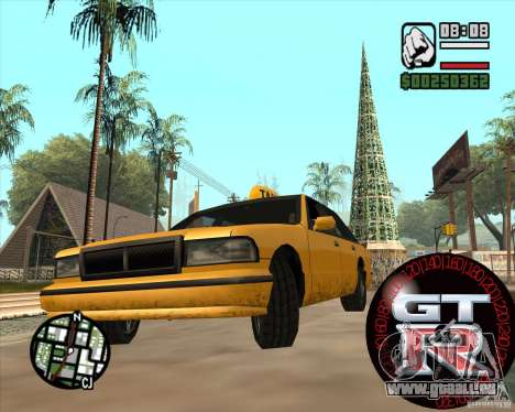 Tachometer GT-R für GTA San Andreas