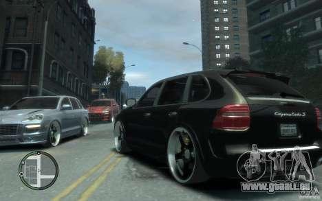 Porsche Cayenne für GTA 4 hinten links Ansicht