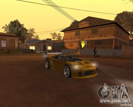 Cadillac Cien The SHARK DREAM Tuning pour GTA San Andreas vue de droite