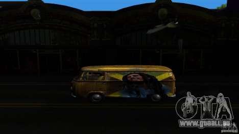 Comb do Bob and Rastaman pour GTA San Andreas sur la vue arrière gauche