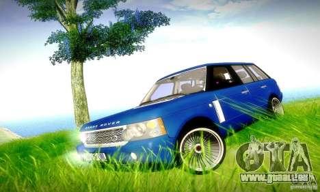 Range Rover Supercharged pour GTA San Andreas moteur