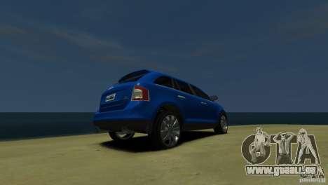 Ford Edge 2007 pour GTA 4 Vue arrière de la gauche