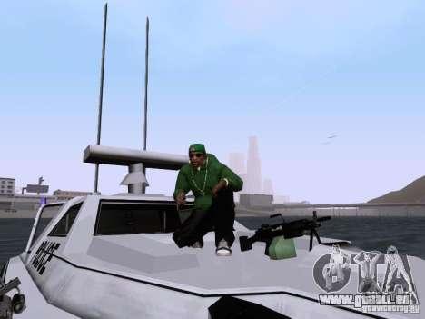 NEW Predator pour GTA San Andreas vue de côté