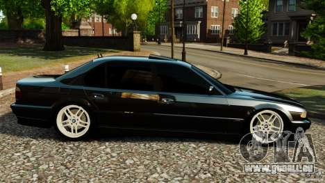 BMW 750iL E38 Light Tuning für GTA 4 linke Ansicht
