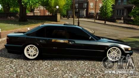 BMW 750iL E38 Light Tuning pour GTA 4 est une gauche