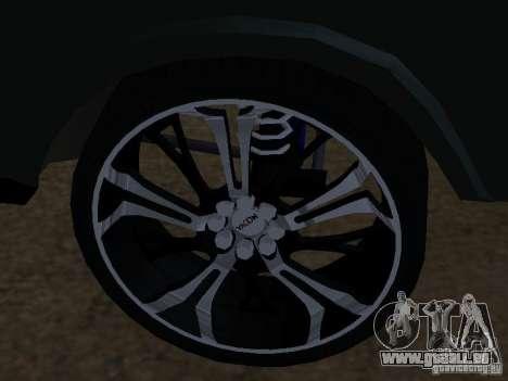 Lada Niva 21214 Tuning für GTA San Andreas Rückansicht