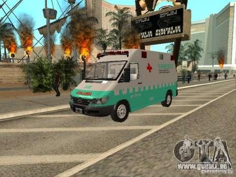 Mercedes Benz Sprinter SAME pour GTA San Andreas