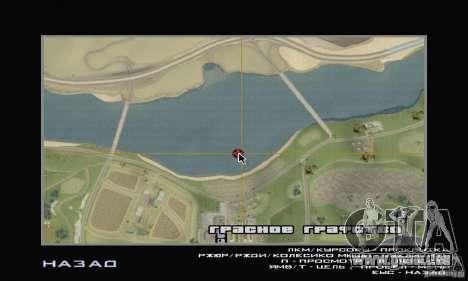 Insel (Monat auf dem Wasser) für GTA San Andreas siebten Screenshot