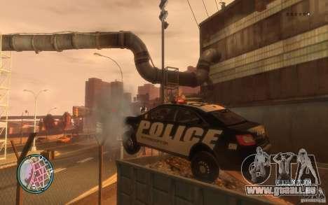 Ford Taurus Police für GTA 4 Rückansicht