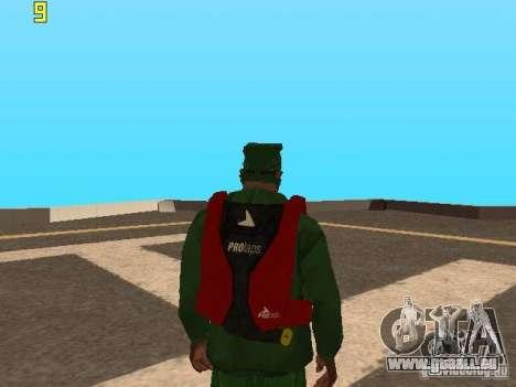 Parachute de TBOGT v2 pour GTA San Andreas deuxième écran