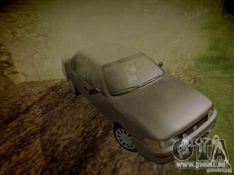 Toyota Corolla für GTA San Andreas Seitenansicht