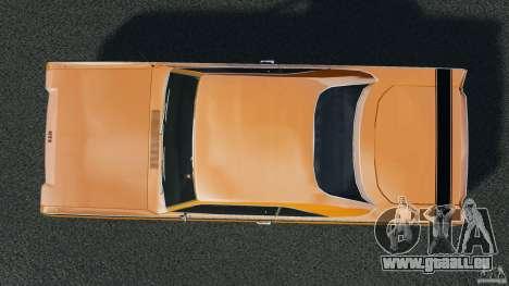 Dodge Dart GTS 1969 pour GTA 4 est un droit
