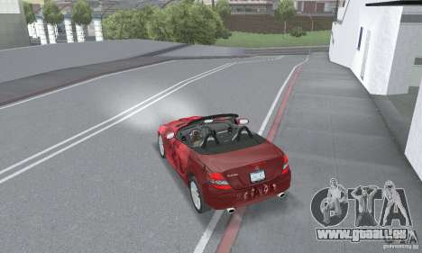 Mercedes-Benz SLK 350 für GTA San Andreas Seitenansicht