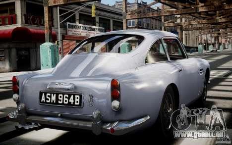 Aston Martin DB5 1964 pour GTA 4 est un côté