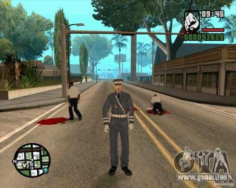 Service de sécurité russe pour GTA San Andreas quatrième écran