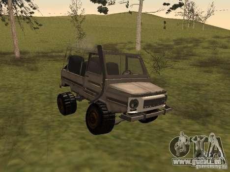 LuAZ 969 Offroad für GTA San Andreas linke Ansicht