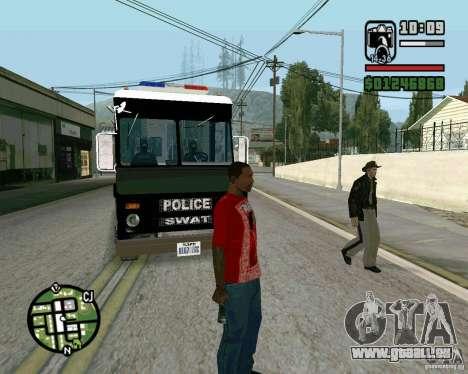 Nouveau shérif pour GTA San Andreas troisième écran