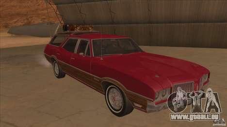 Oldsmobile Vista Cruiser 1972 pour GTA San Andreas vue arrière