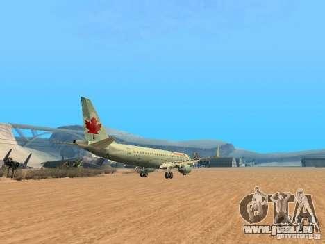Embraer ERJ 190 Air Canada für GTA San Andreas Rückansicht