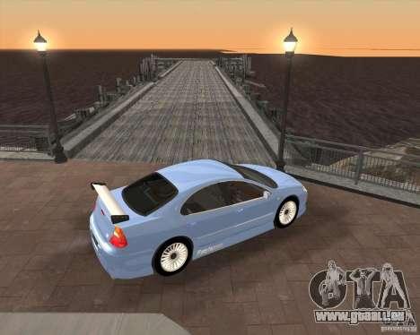 Chrysler 300M tuning pour GTA San Andreas sur la vue arrière gauche